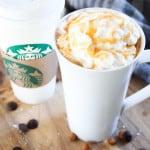 Copycat Recipe for Starbucks Salted Caramel Hot Chocolate