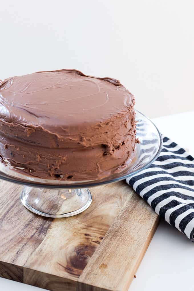 Chocolate Fudge Cake Recipe-11