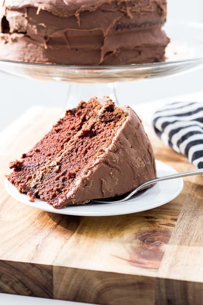 Chocolate Fudge Cake Recipe-13