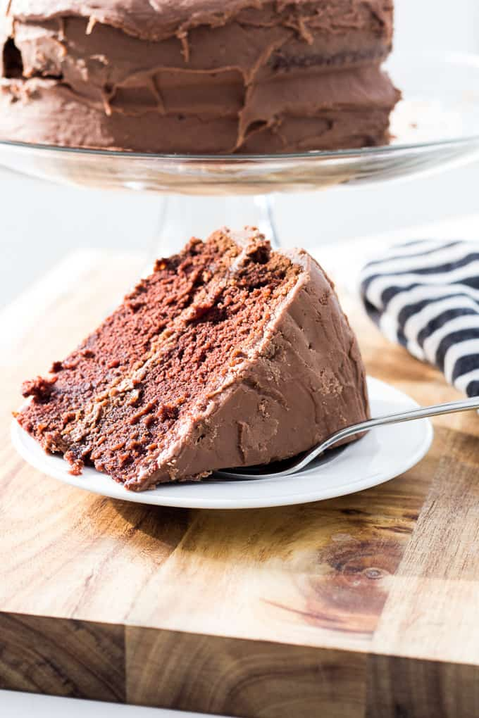 Chocolate Fudge Cake Recipe-13