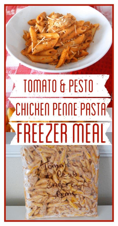 Tomato & Pesto Chicken Penne Pasta - 1