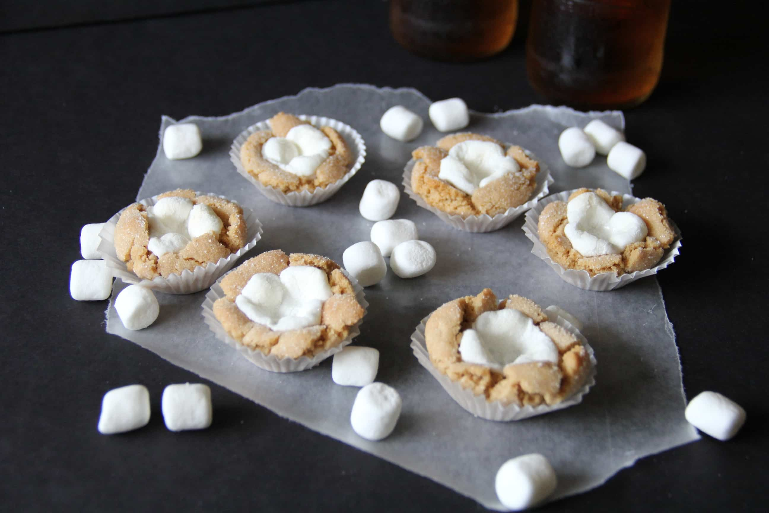 Marshmallow and Peanut Butter Cookie Recipe