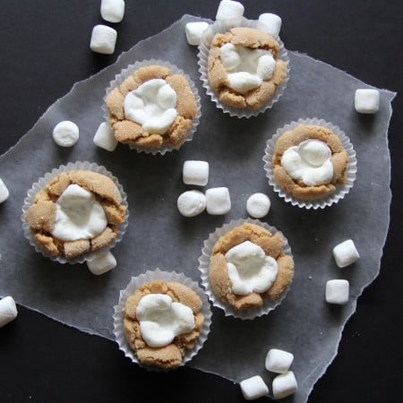 Peanut Blossoms with Marshmallow Filling