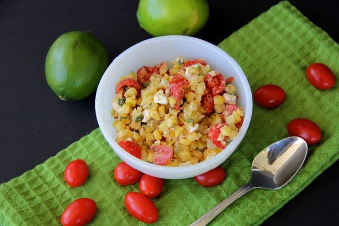 Cold Summer Corn Salad