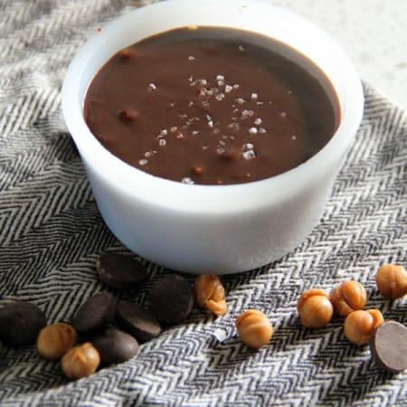 Salted Caramel Chocolate Sauce