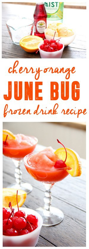 Frozen Drink Recipe- Cherry June Bug
