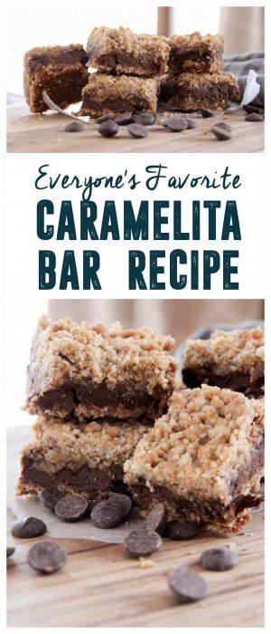 Caramelita Bars Recipe