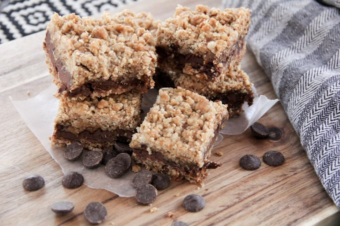 Bars with Chocolate and Caramel