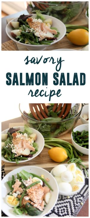 Savory Salmon Salad Recipe