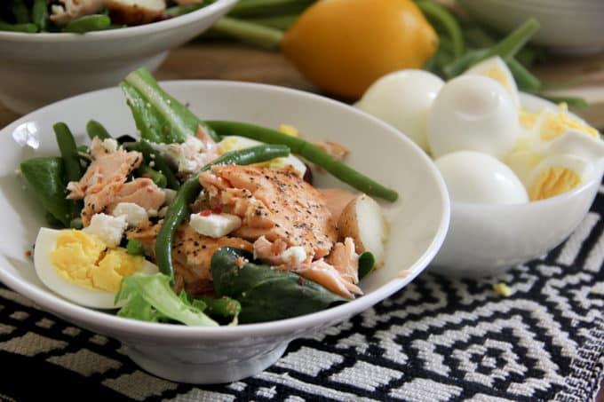 Savory Salmon Salad