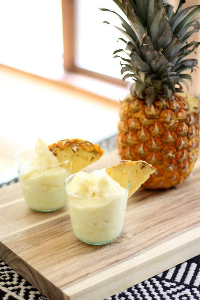 Frozen Coconut Pineapple Slush