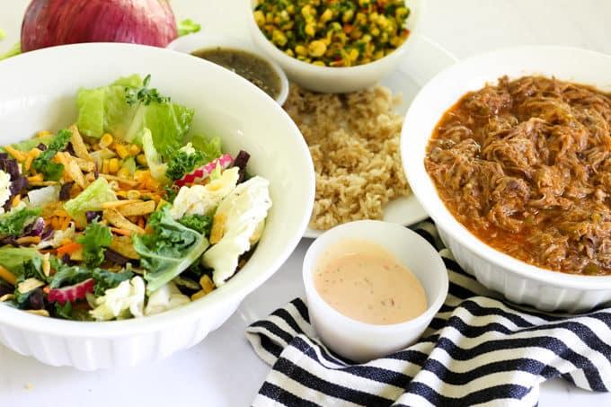 Pork Rio Salad