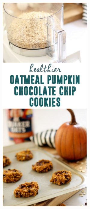 Oatmeal Pumpkin Chocolate Chip Cokies