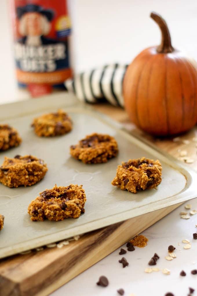 Pumpkin Healthy Cookies