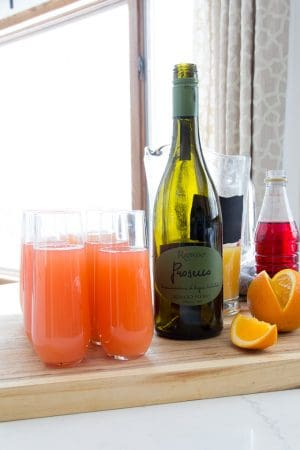 Cherry Mimosa Recipe with Grandine